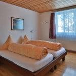 Slaapkamer 1 vakantie appartement Zwitserland Flumserberg