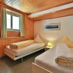 Slaapkamer 2 vakantie appartement Zwitserland Flumserberg